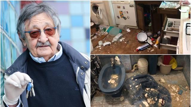 Voji Šiljku potres uništio stan: 'U njemu je bio naš cijeli život'