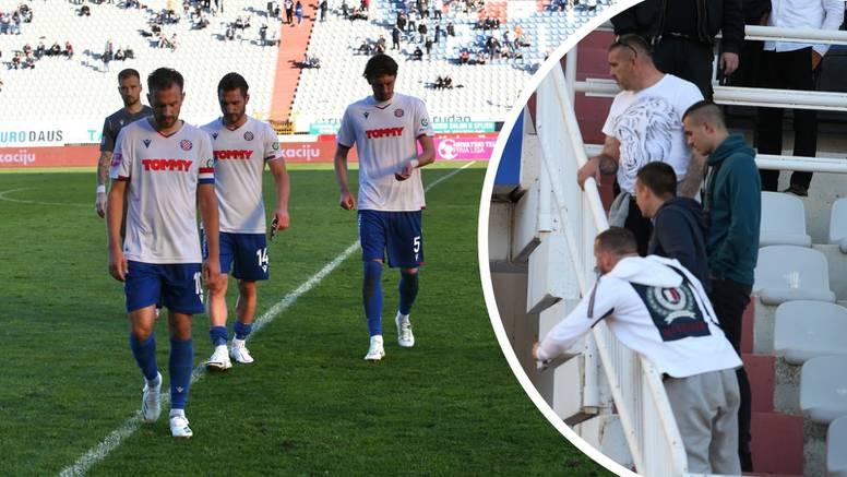 Povici 'Vi niste Hajduk' najbolja je ocjena igre splitske momčadi