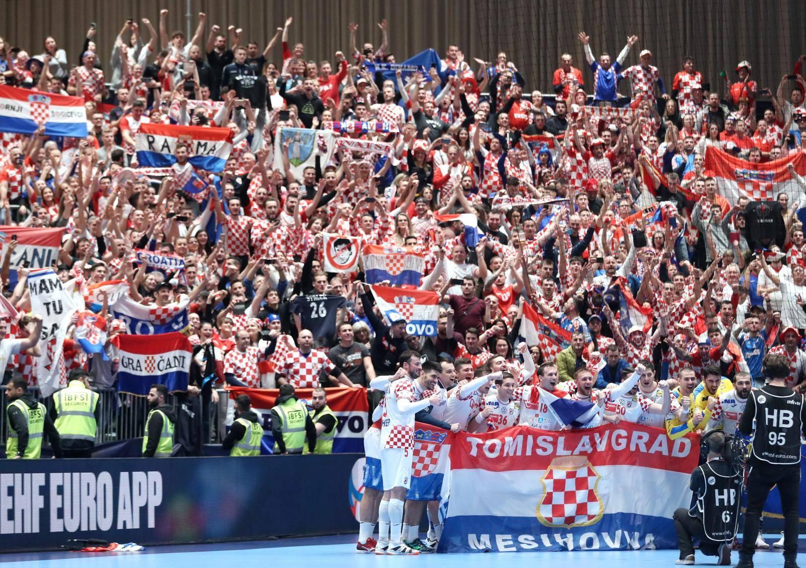 Graz: Hrvatska i Srbija susreli se u posljednjem kolu skupine A Europskog prvenstva u rukometu