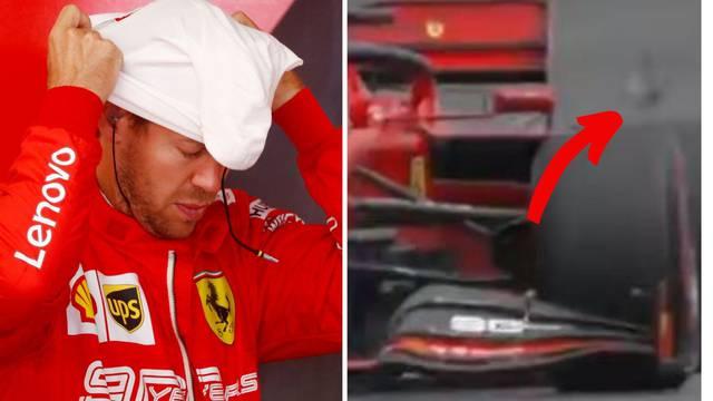 Debakl Ferrarija u Njemačkoj, Vettel skoro presudio ptici