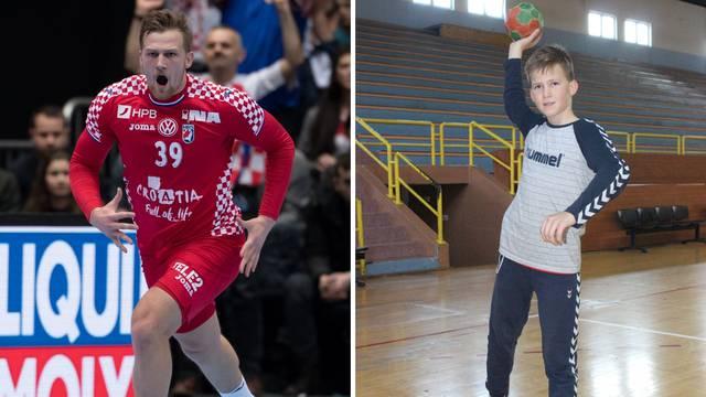 Mali Mandić: Brat mi je uzor, zbog njega i ja igram rukomet