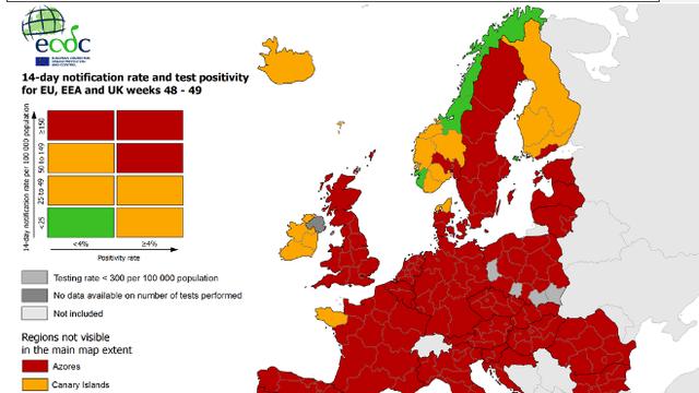 Stigla aplikacija s podacima o koroni i zaraženima u Europi