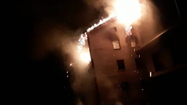 Buknuo požar u napuštenom komunalnom poduzeću u Gorici