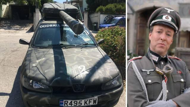 Poručnik Gruber na Jadranu: U 'tenkiću' se vozi kroz Europu
