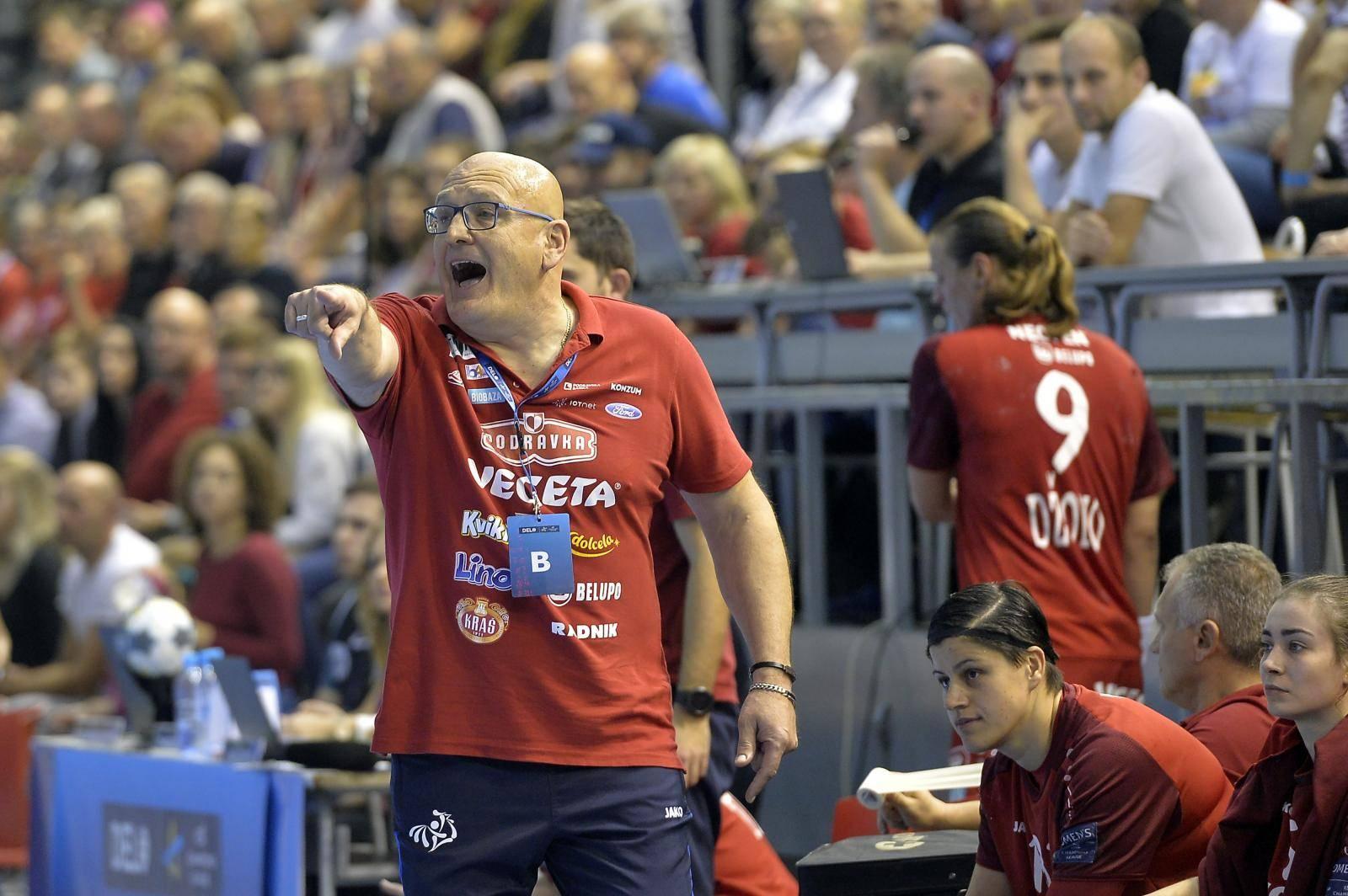 Koprivnica: Podravka Vegeta protiv Metz Handball u 5. kolu ženske rukometne Lige prvaka
