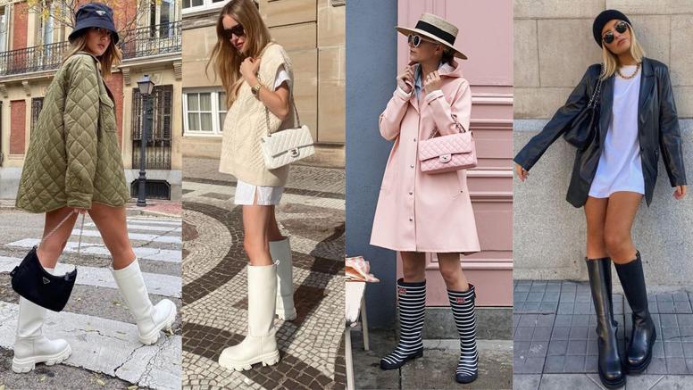 Stižu nam kišni dani: Evo kako iskombinirati gumene čizme