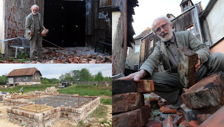 Nakon potresa: Gradi kućicu od cigli iz zagrebačkih dimnjaka