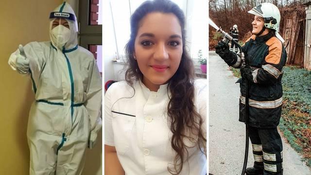 Gabriela (27) je vatrogaskinja i Covid sestra: U osnovnoj školi sam znala da ću gasiti požare