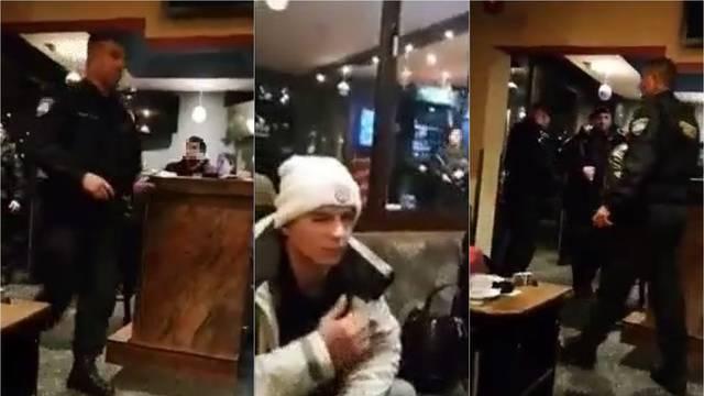 Ovako je policija upala u kafić u kojem su sjedili ubojica i brat...