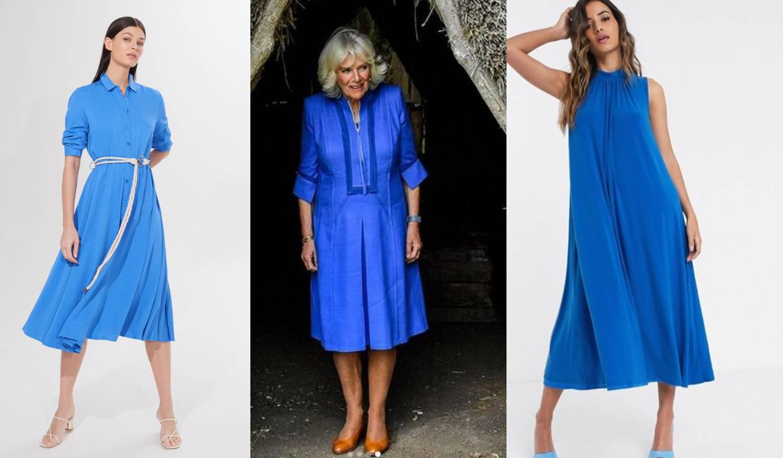 Camilla je odjenula odličnu plavu haljinu - pronašli smo slične u high street dućanima