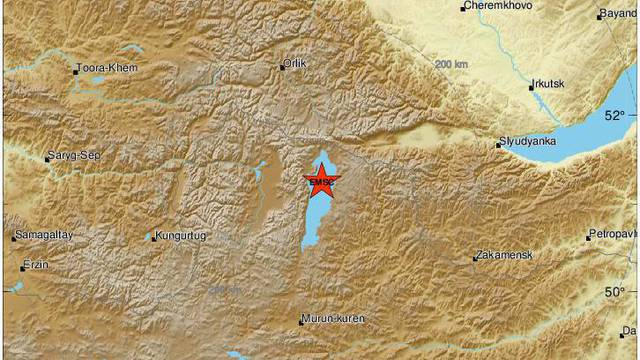 Potres od 6,8 Richtera pogodio Mongoliju, treslo je 40 sekundi