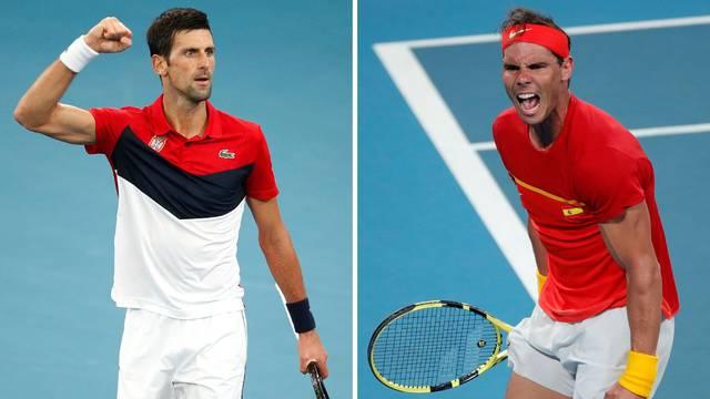 Klasik u finalu ATP kupa: Srbi na Španjolce, Nadal na Noleta