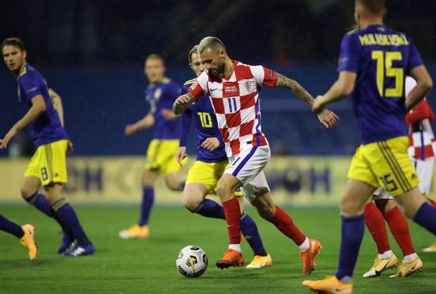 Zagreb: Hrvatska ugostila Švedsku u 3. kolu Lige nacija