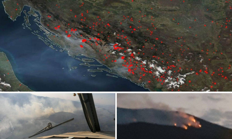 Požar se vidi iz svemira: 'Gori moja Zagora, uništit će se sve'