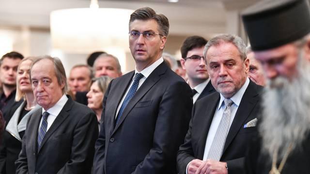 Zagreb: Srpsko narodno vijeće organiziralo je prijem u povodu proslave pravoslavnog Božića