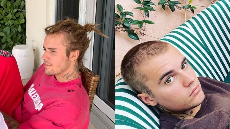 Bieber se ošišao nakon što su ga tjednima napadali za frizuru