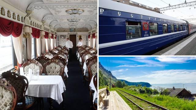 Luksuz Transsibirske željeznice: Putovanje stoji čak 150.000 kn