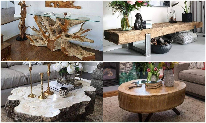 Drveni stolovi i stolići koji će vam oduzeti dah - predobri su