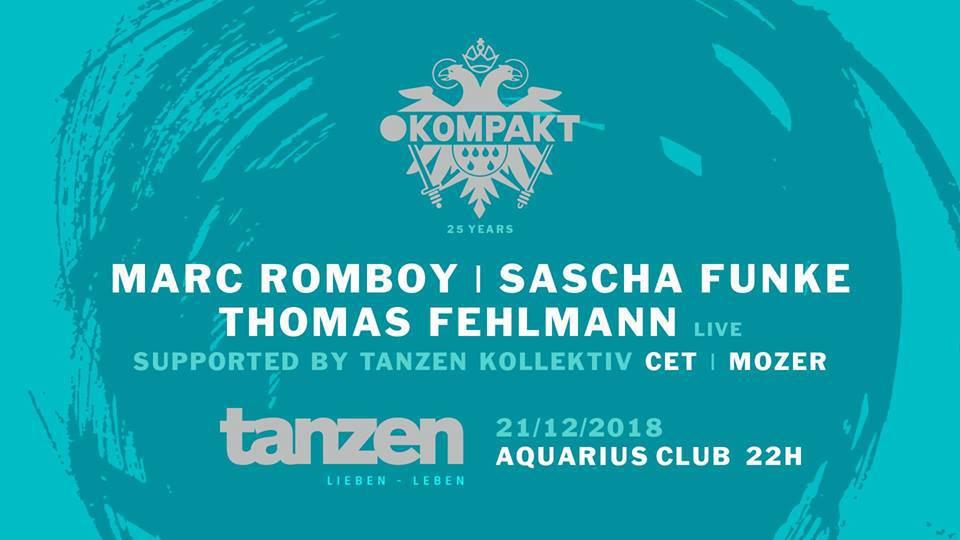 Za kraj godine – event godine! Kultni njemački label Kompakt