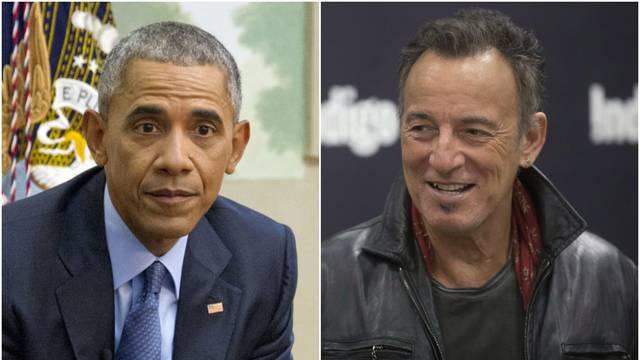 Obama priznao Springsteenu za okršaj: 'Udario sam ga u lice i slomio mu nos. Bio je rasist...'