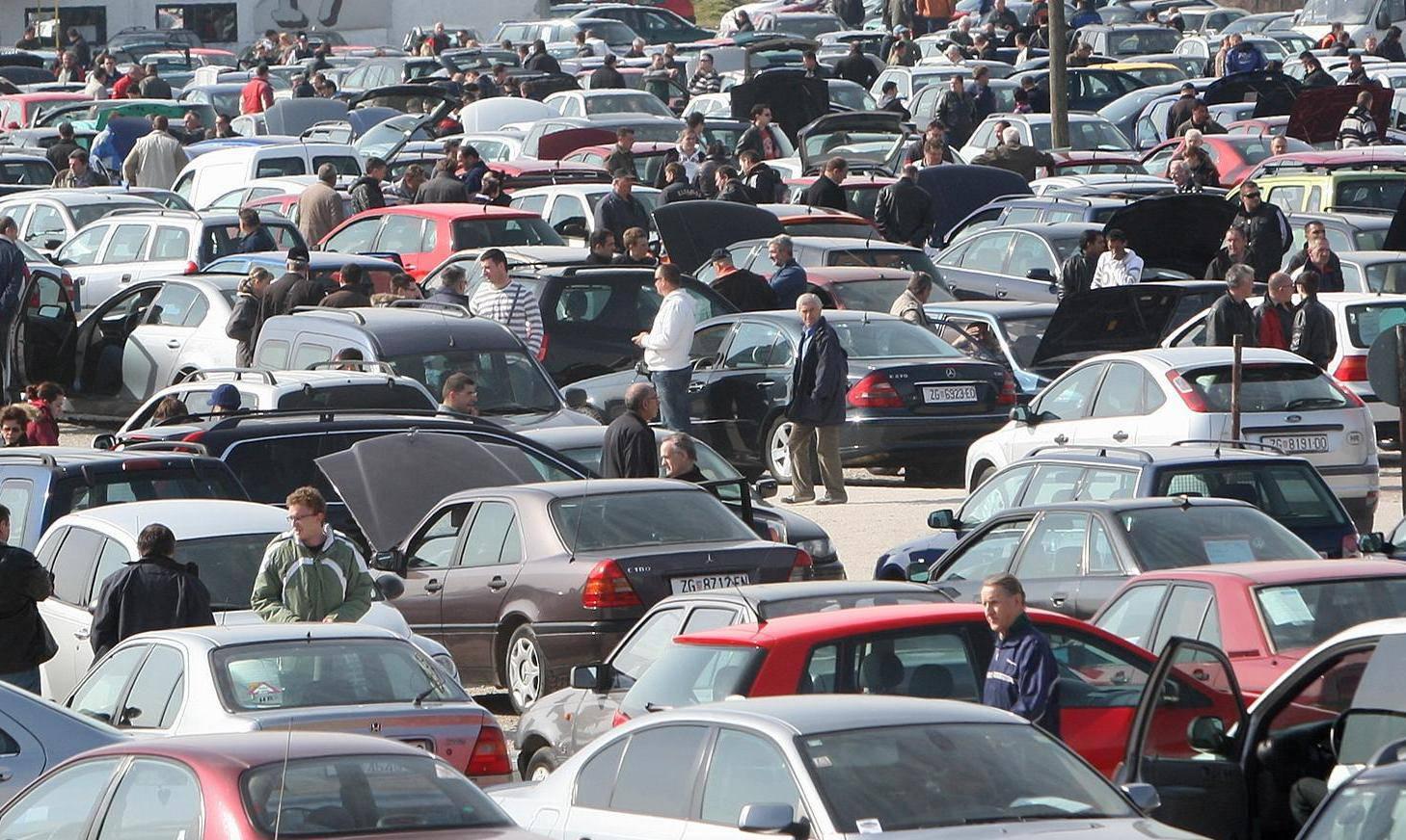 Hrvatsko tržište automobila u travnju palo za čak 87,5 posto