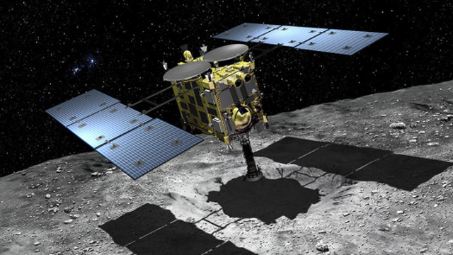 Sonda na asteroidu: Skupljaju uzorke iz unutrašnjosti kratera