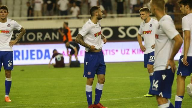 Izgubljeni igrači Hajduka! Nitko nije dao izjave poslije debakla