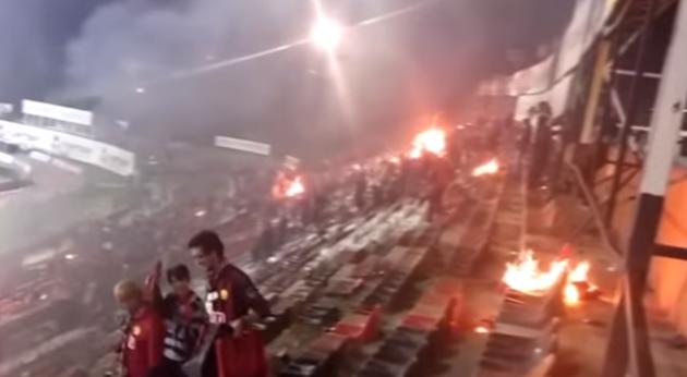 Hrvatska večeras na stadionu kojeg su zapalili turski navijači