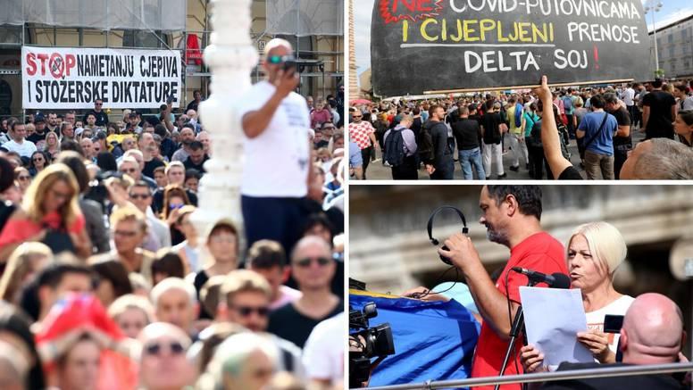 Gotov Festival slobode: Trajao je 4 sata, policija je imala dvije intervencije. Građani se razišli