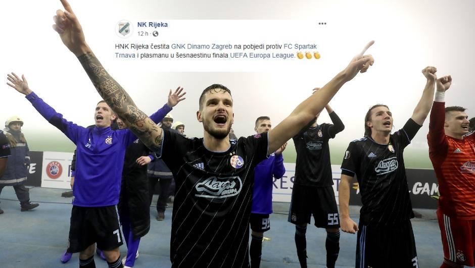 Dinamu su na velikom uspjehu čestitali samo Rijeka i Gorica!