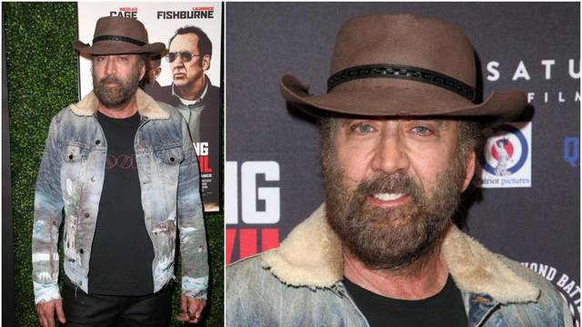 Nicolas Cage došao neobrijan i prljav na premijeru svog filma