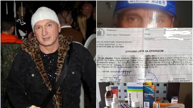 Javio se srpski pjevač koji je imao koronu: 'Nisam pobjegao iz bolnice, pustili su me kući!'