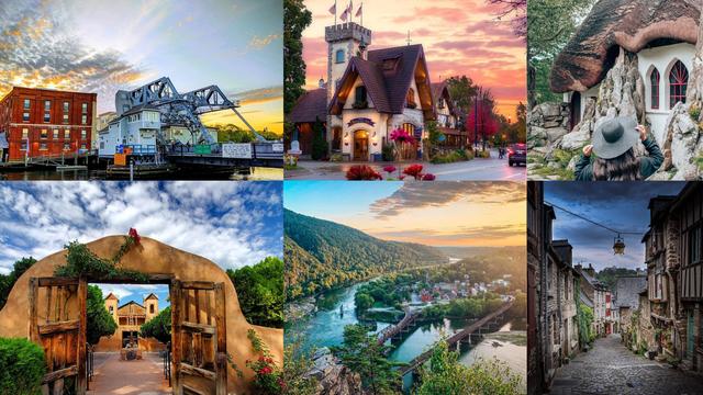 12 čarobnih američkih gradića: Lijepi su kao da su izašli iz bajke