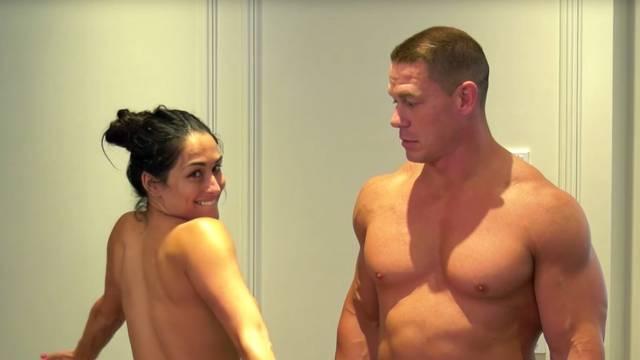 John Cena i Nikki Bella ispunili obećanje: Skinuli se - do kraja