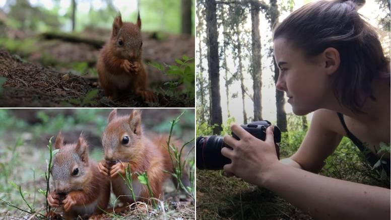 Djevojka spasila bebe vjeverice nakon što im je uginula mama