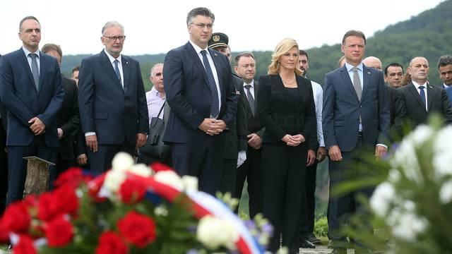 Zagreb: Državni vrh poklonio se na Oltaru domovine povodom Dana državnosti