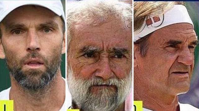 ATP se našalio i stavio starce kao tenisače: 'Karlović je isti'