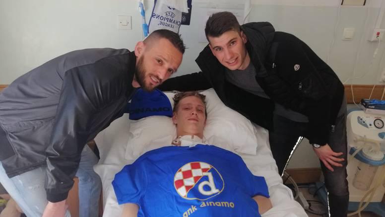 Dinamovi igrači skupili novac za liječenje svoga bivšeg golmana