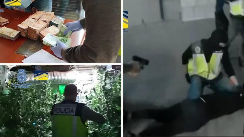 VIDEO Srušen veliki balkanski kartel: Planirali uvesti 1.25 tona kokaina iz Južne Amerike...
