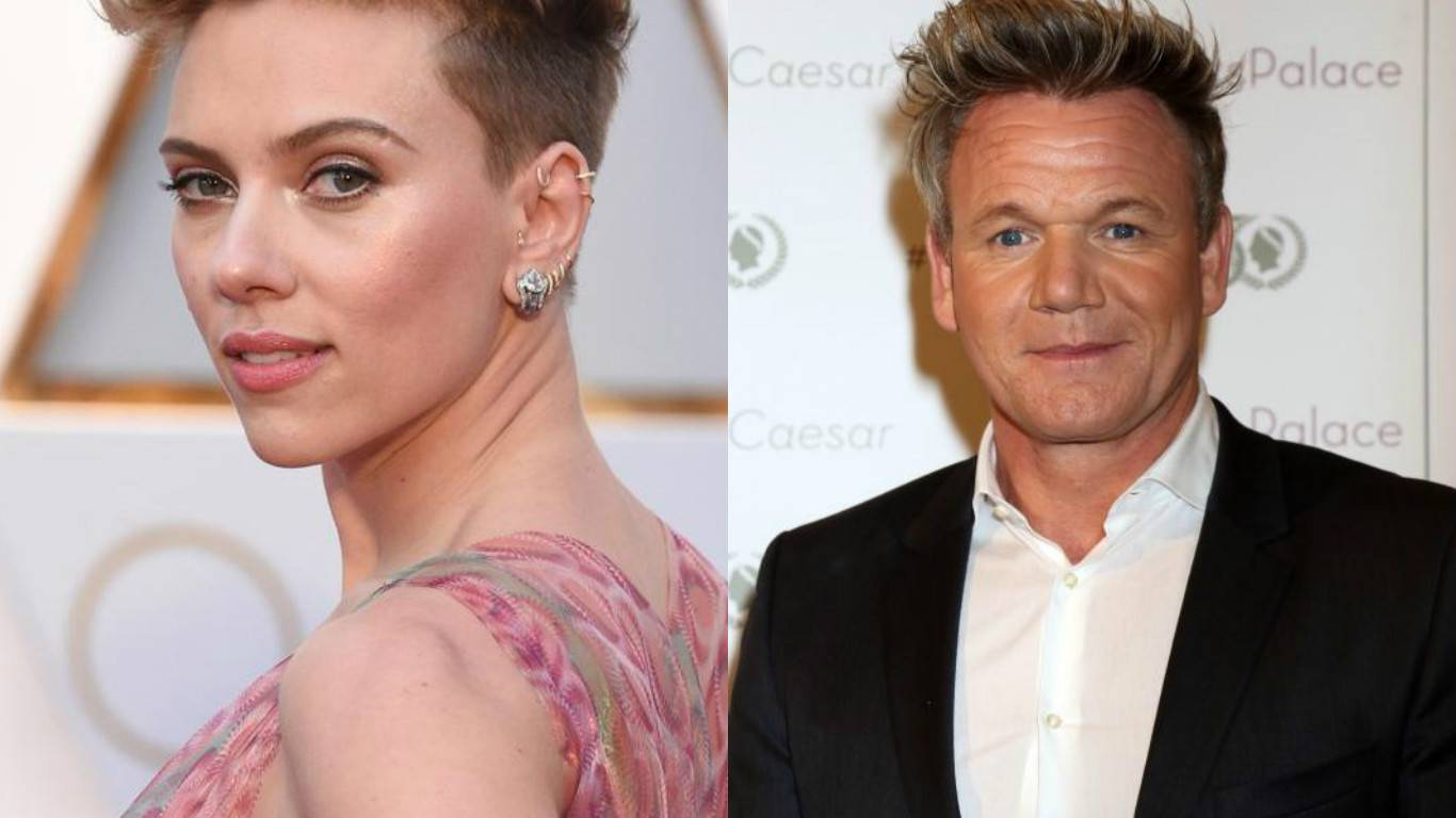 Scarlett Johansson: 'Palim se na kuhara Gordona Ramseya'