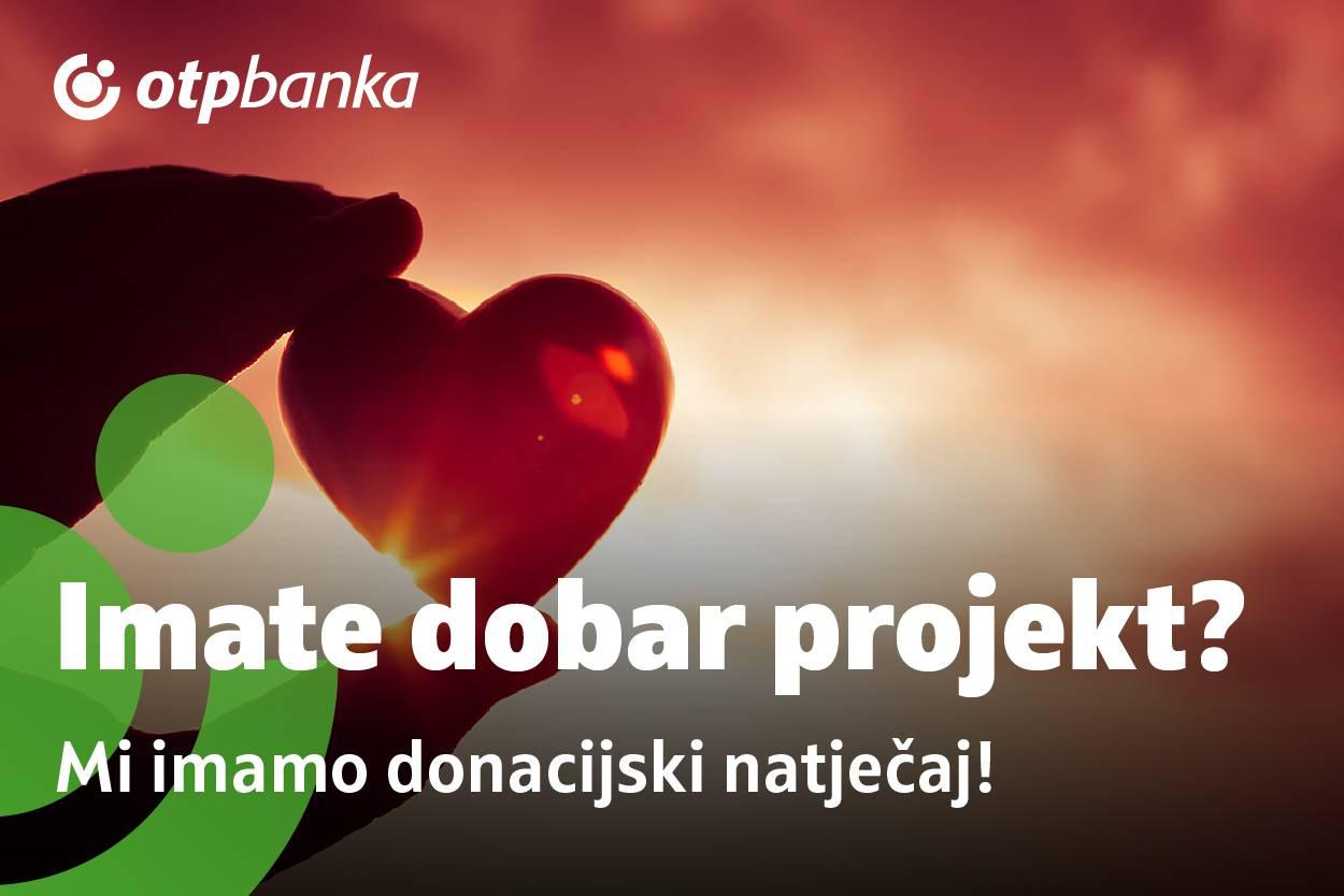 Donacijski natječaj OTP banke: Zeleno svjetlo za… bolje društvo