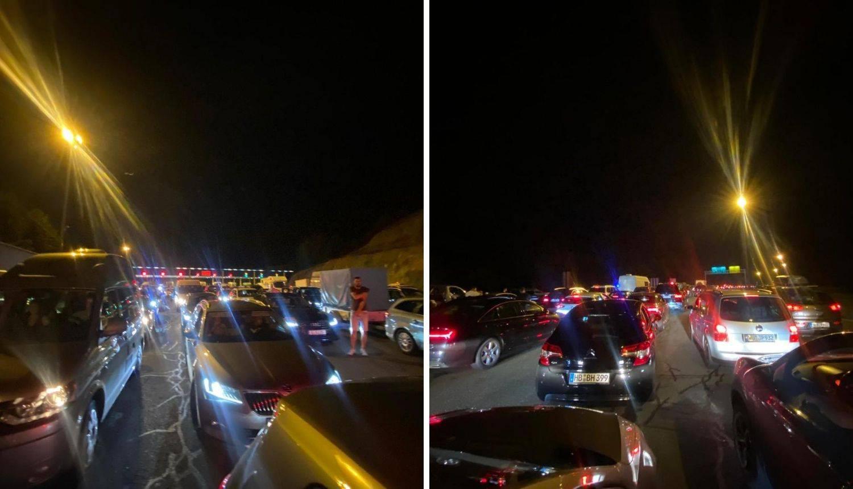 Gužve na izlazu iz Hrvatske: 'Pa čekamo već šest sati, a imamo još par kilometara do granice!'