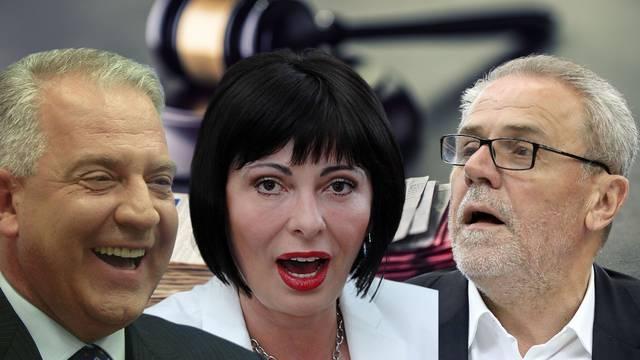Moćni političari i bankari koji su zbog afera završili na sudu, a procesima se ne vidi kraj...