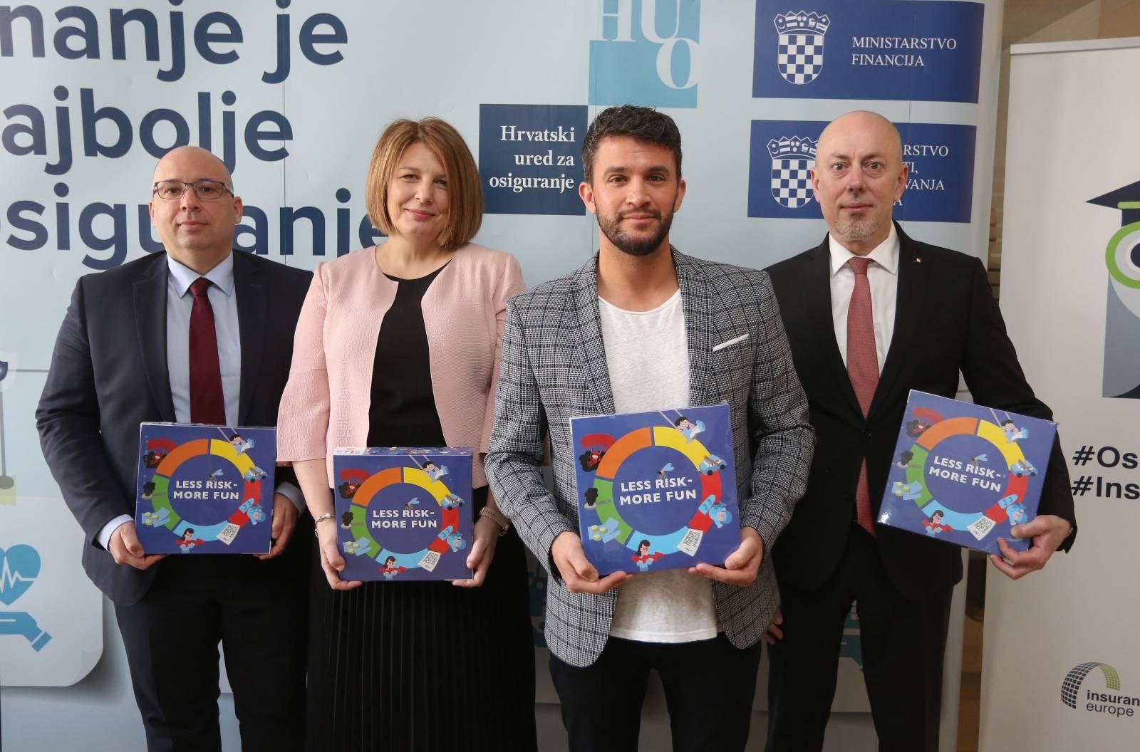 Zagreb: Hrvatski ured za osiguranje održao konferenciju za medije