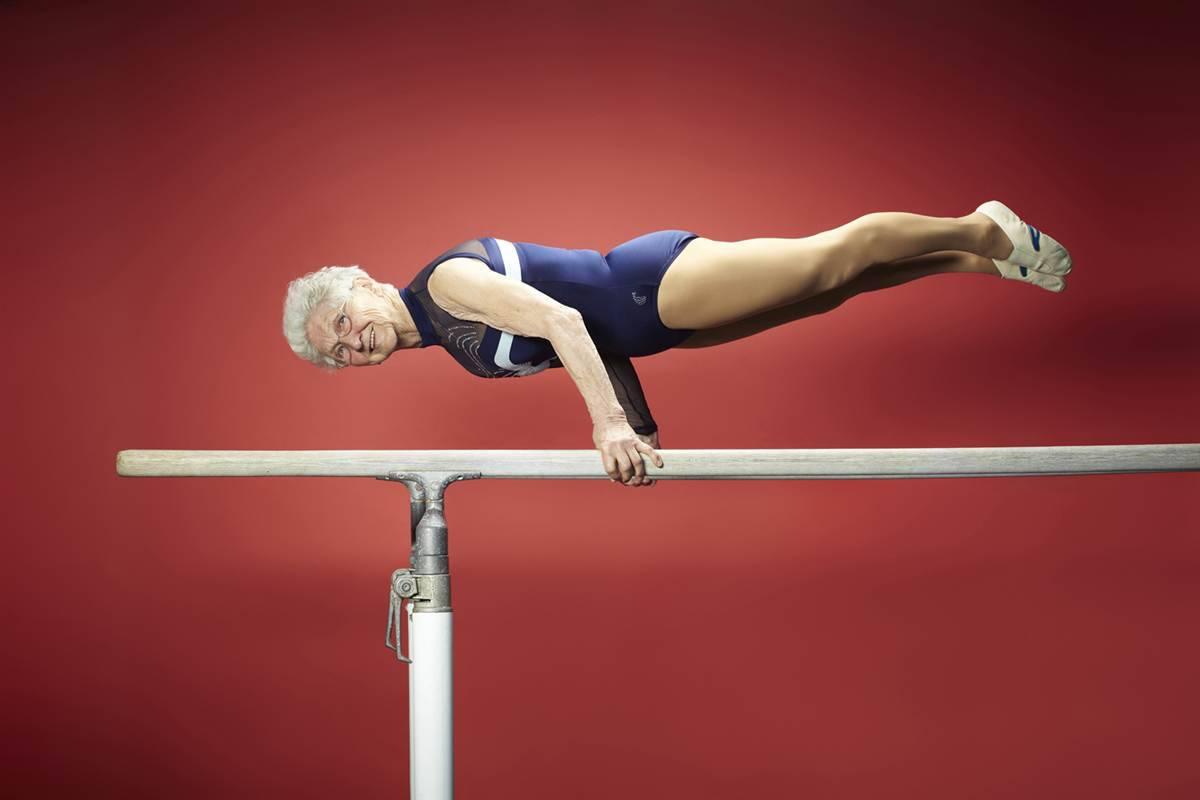 Najstarija gimnastičarka