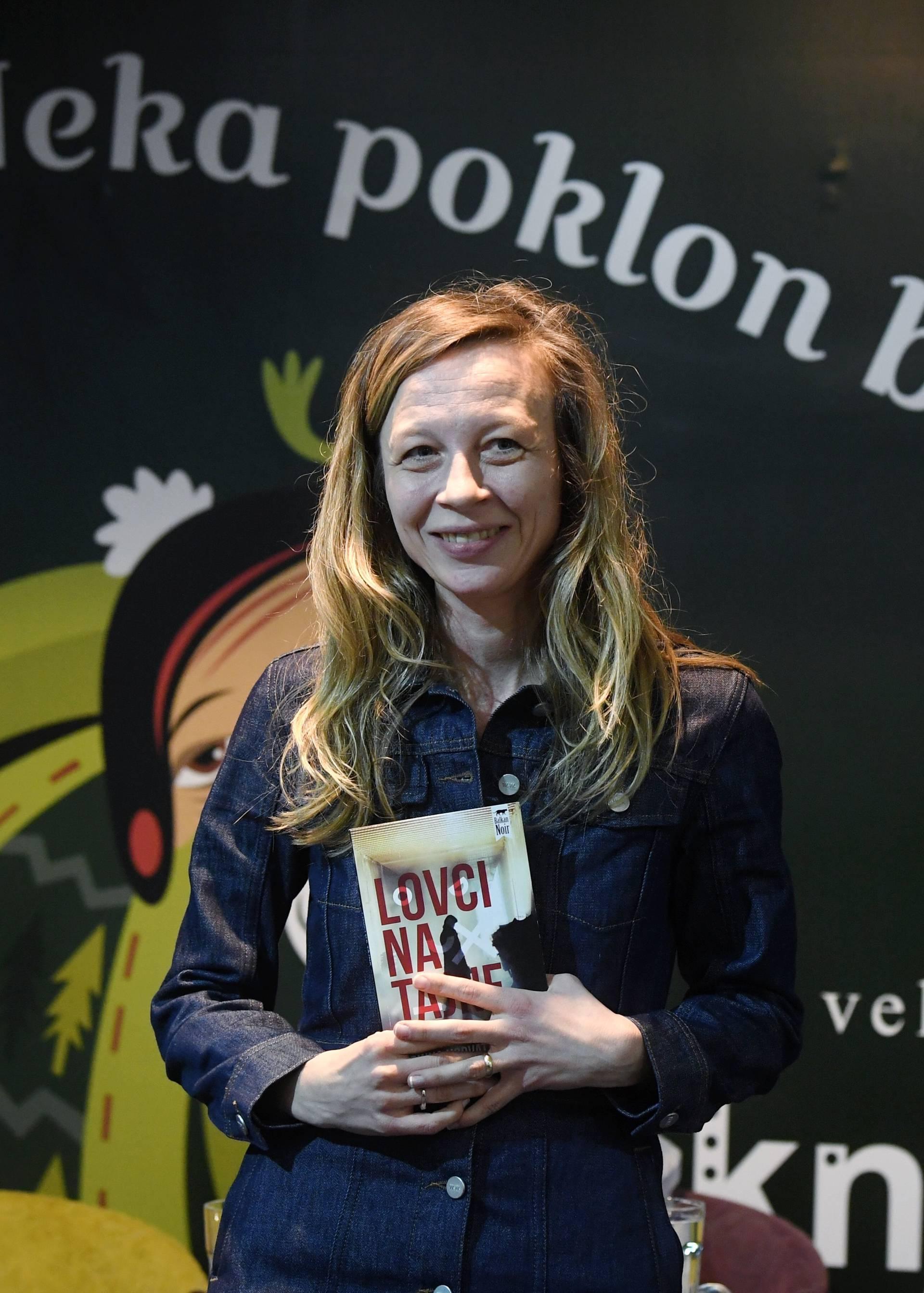 """Zagreb: Predstavljen novi roman Zrinke Horvat Goodman """"Lovci na tajne"""""""