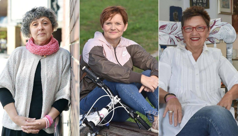 Diana, Ljiljana i Renata bile su jače od dijagnoze raka: 'Šok, vrijeme je stalo, suze krenule...'