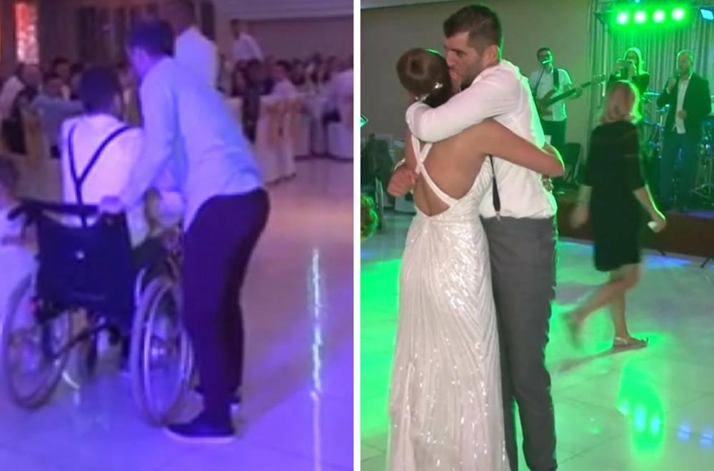 Heroj Nikola: Ustao iz kolica i zaplesao sa sestrom na svadbi