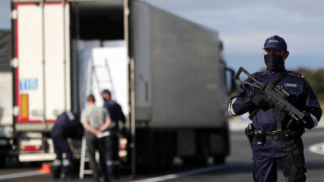 Strengthening border controls in France