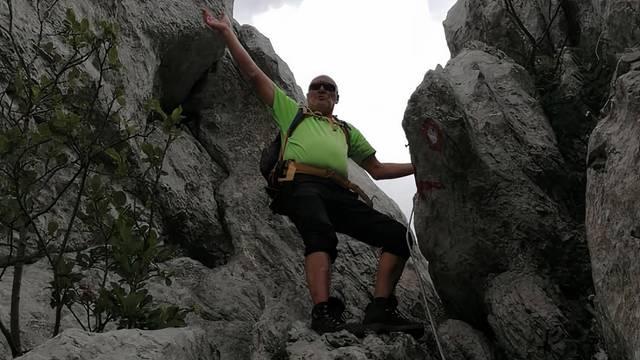 Slijepi planinar iz Istre: Za mene u životu ne postoje prepreke...